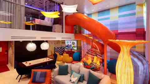 Royal Caribbean Symphony of the Seas - Ultimate Family Suite Living Area