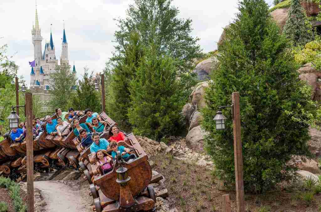 Seven Dwarfs Mine Train (Photo courtesy of Walt Disney World / photographer Ryan Wendler)