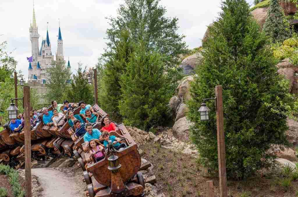 Seven Dwarfs Mine Train (Photo courtesy of Walt Disney World / photographer Ryan Wendler)