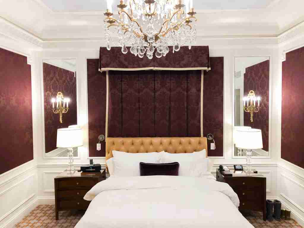 Living the life of luxury at the St. Regis New York
