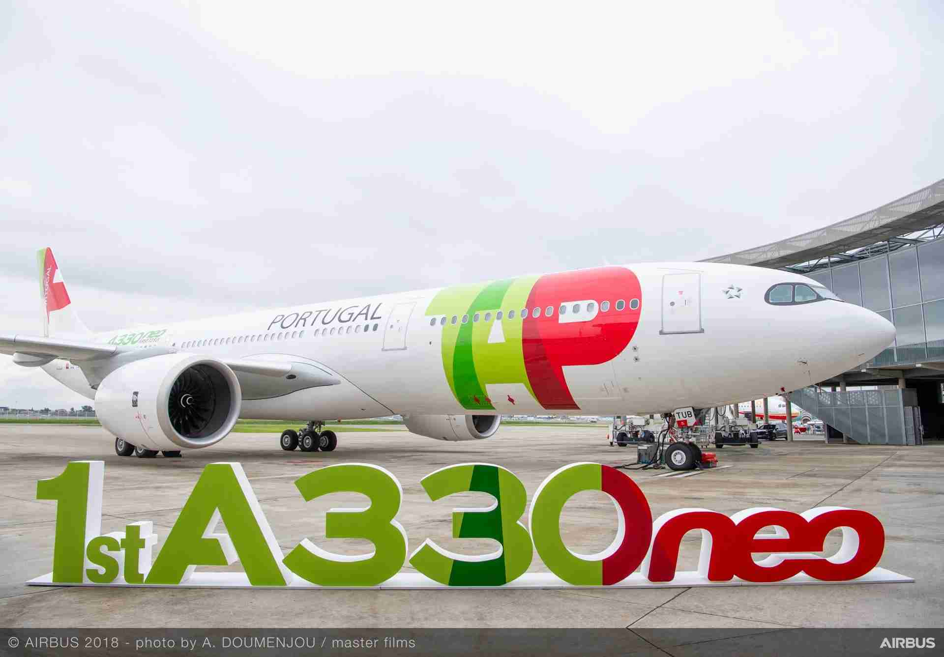 Airbus A330-900 for TAP Air Portugal. Image curtesy of Airbus Photo by A. Documenjou /masterfilms