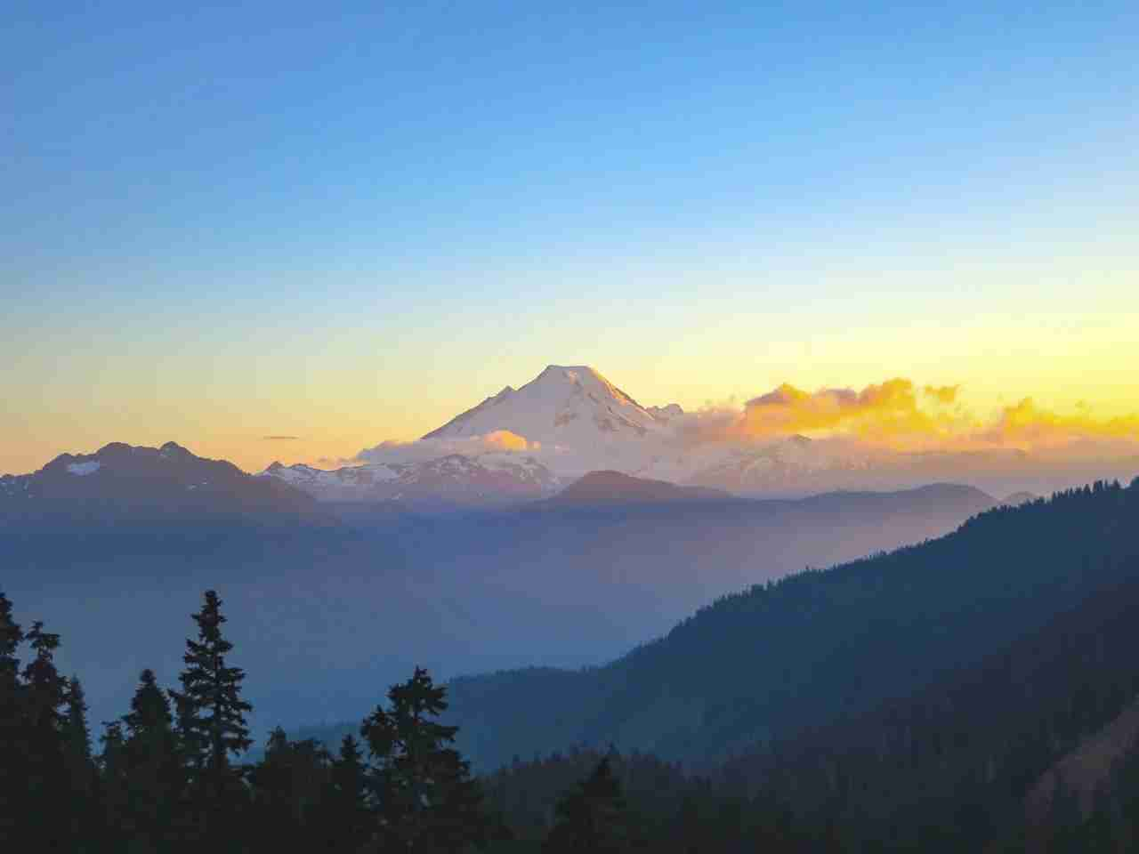 Mount Baker, WA. (Photo via Shutterstock)