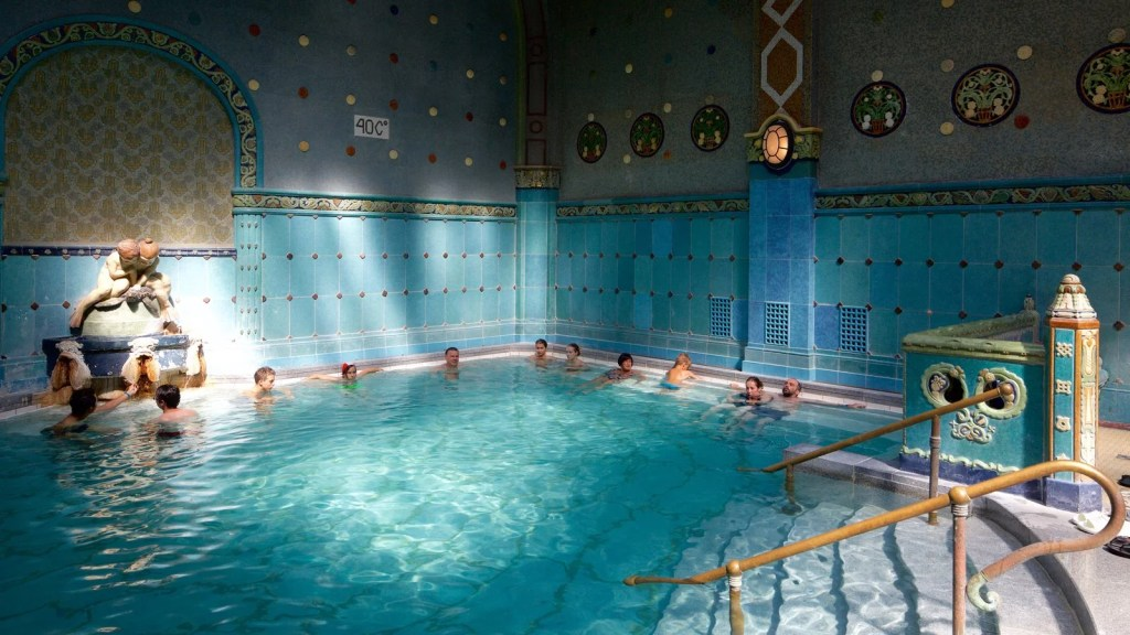 The Gellert Thermal Baths. (Photo courtesy of Expedia)