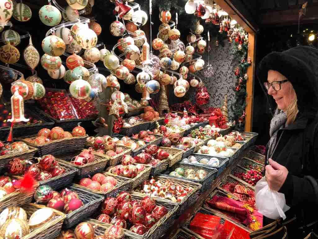 Vienna Christmas Market shopping