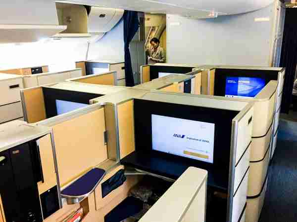 You can book round-trip ANA first class awards for very few miles by transferring either Chase or Amex points to Virgin Atlantic (Photo by Ethan Steinberg / The Points Guy)