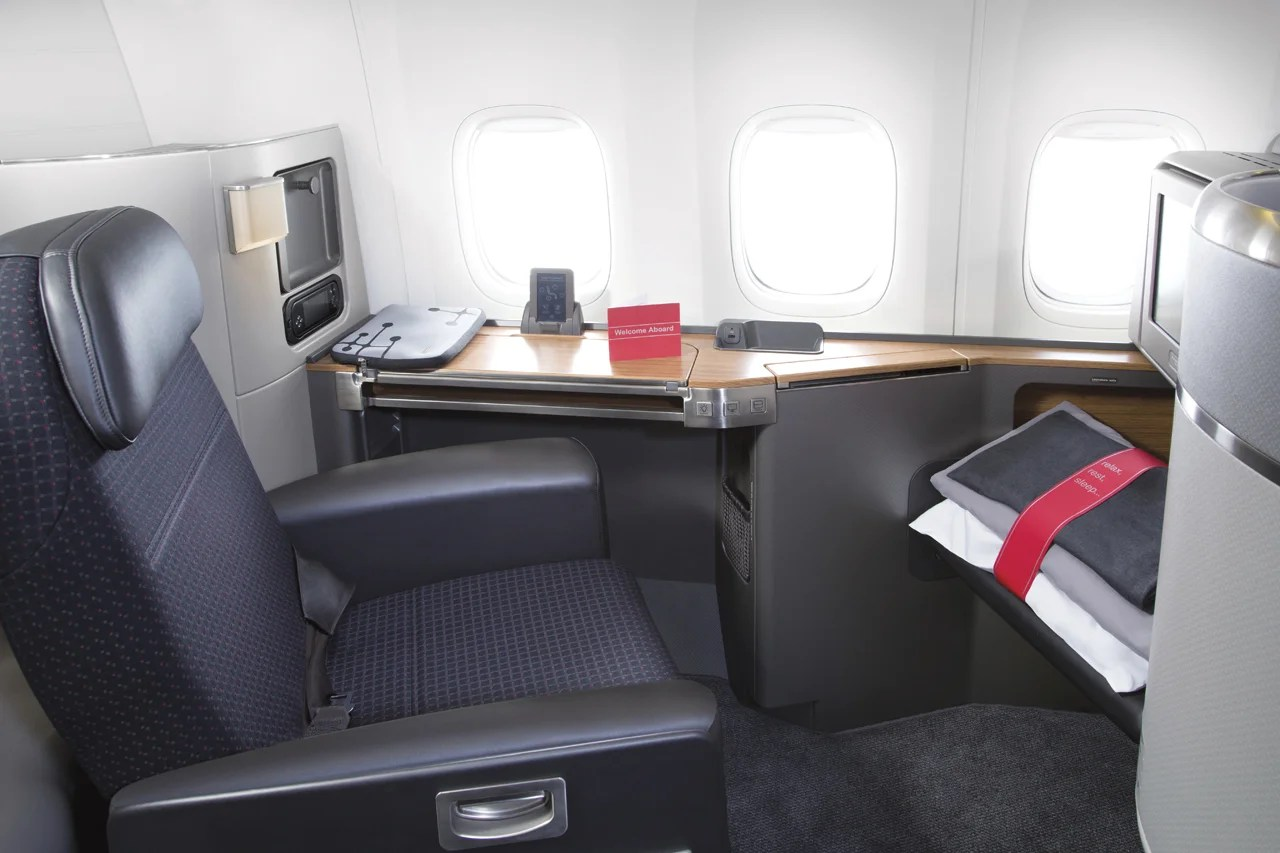 Deal alert – First class to Hong Kong on American as low as 61K one-way