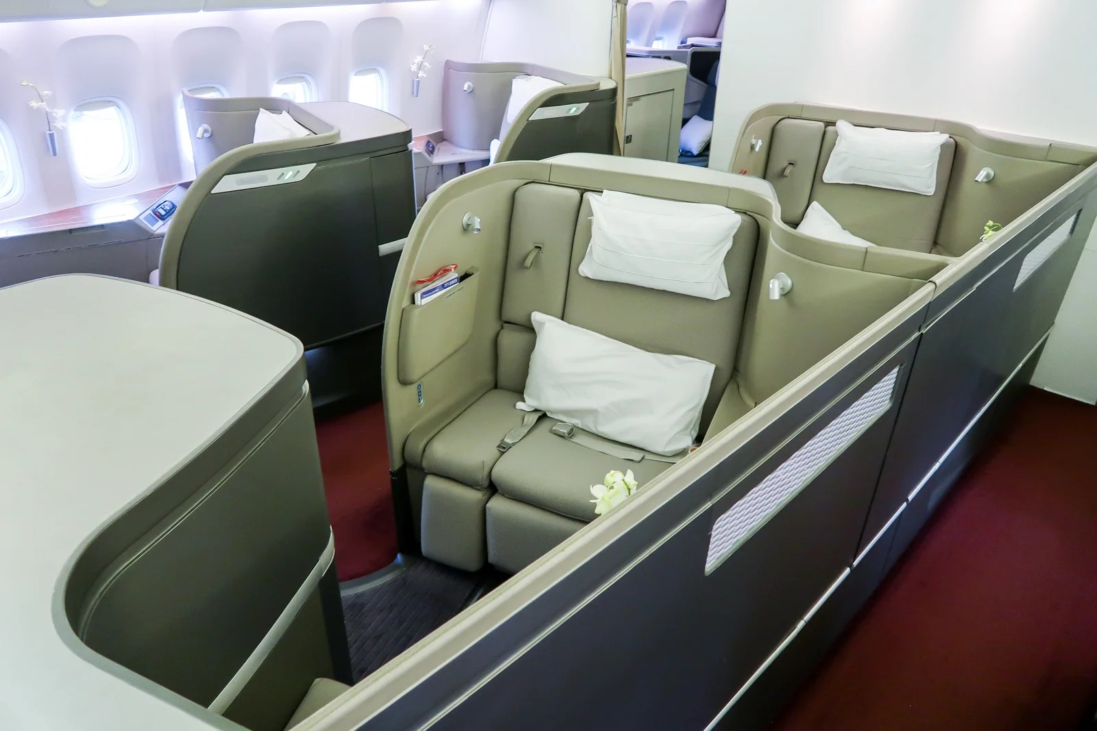Flying Cathay Pacific's 777 First Class — Reader Success Story