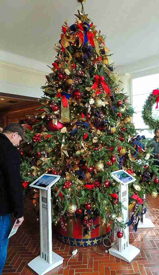 Gold Star Families White House Christmas tree