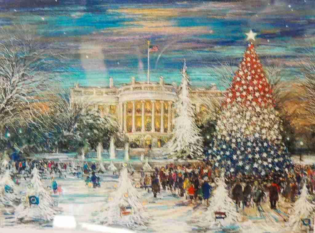 President Bush White House Christmas card