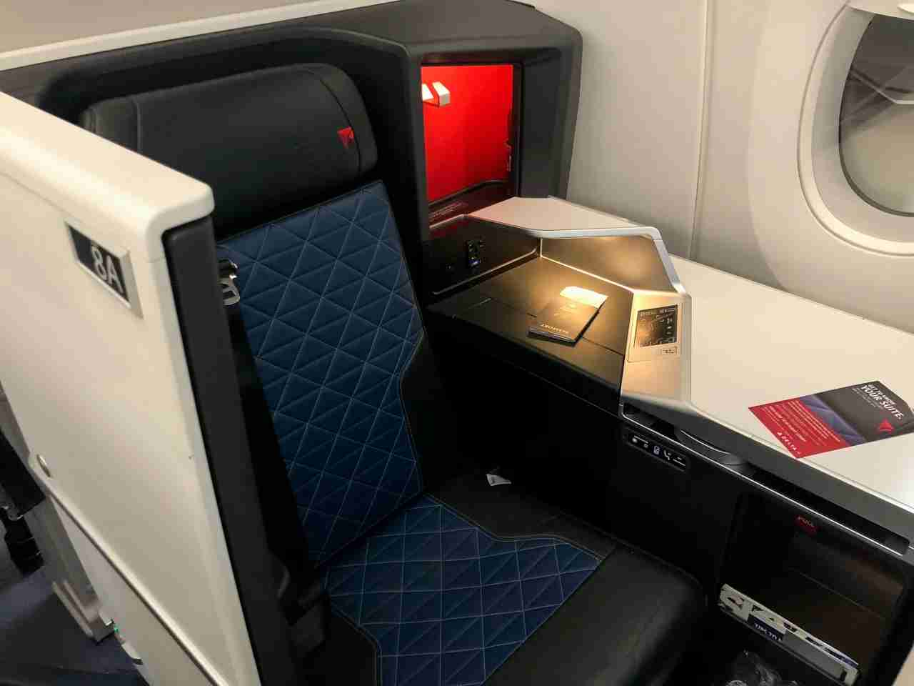 delta one suite airbus a350