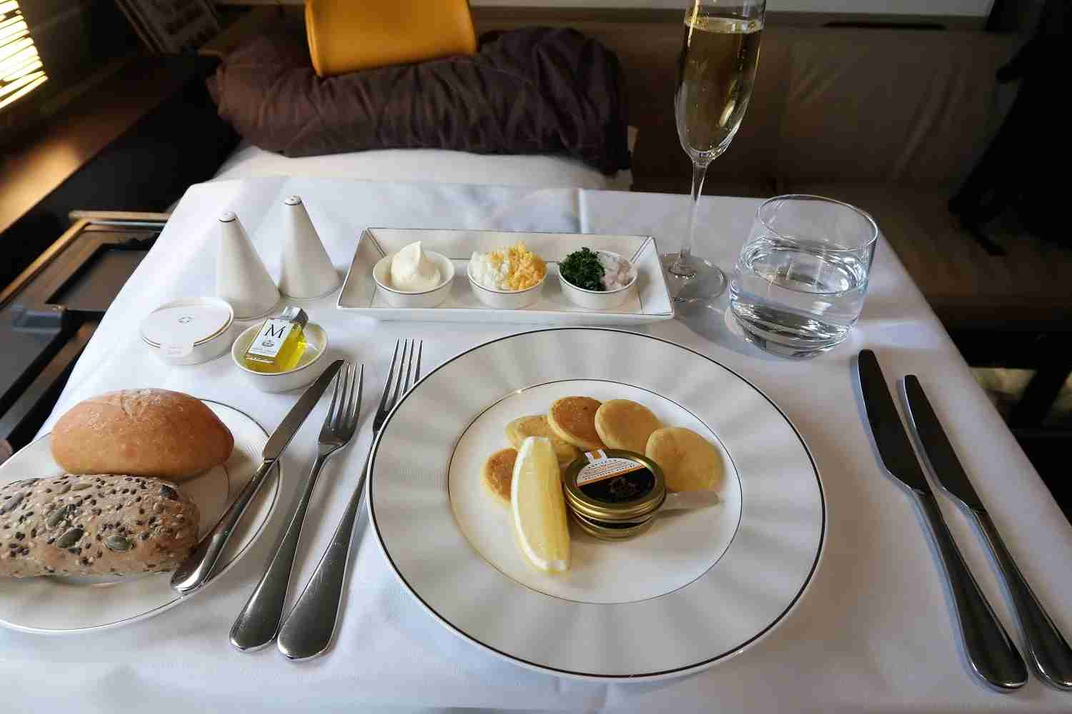 Caviar on Etihad