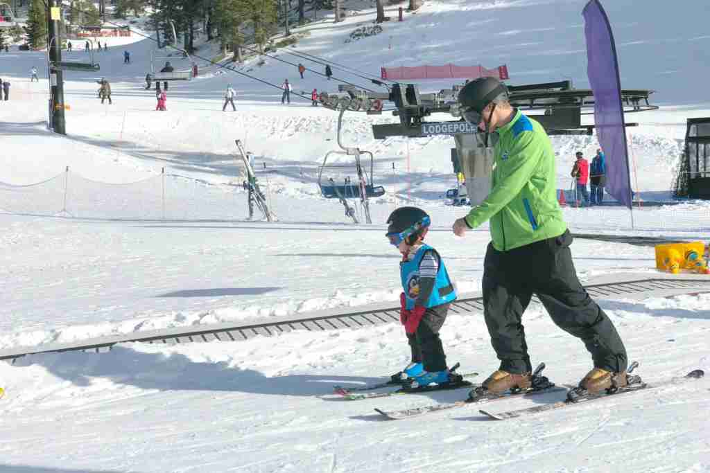 Family Friendly Tahoe Ski Resorts - Diamond Peak Ski School