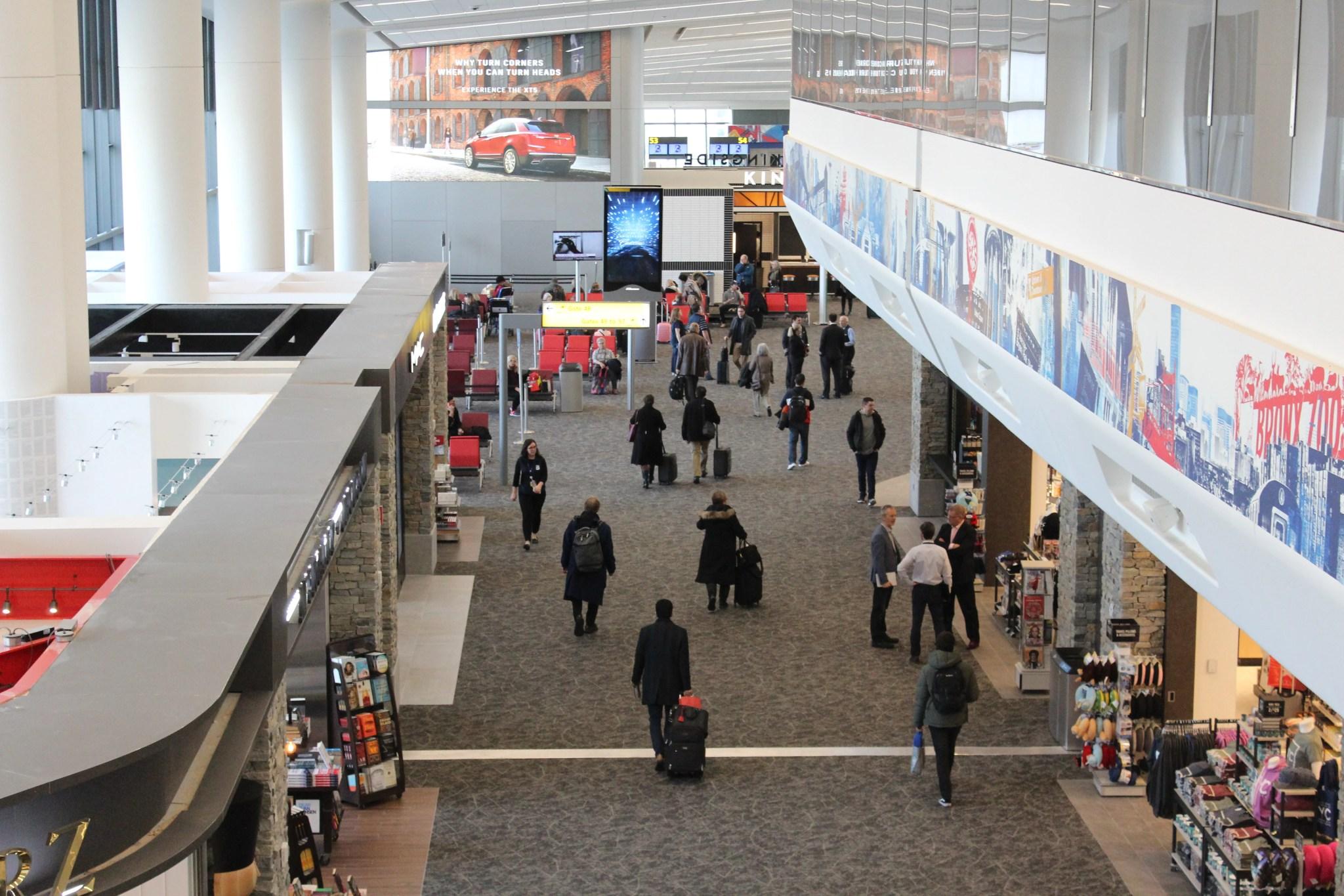 Review: LaGuardia's New Terminal B