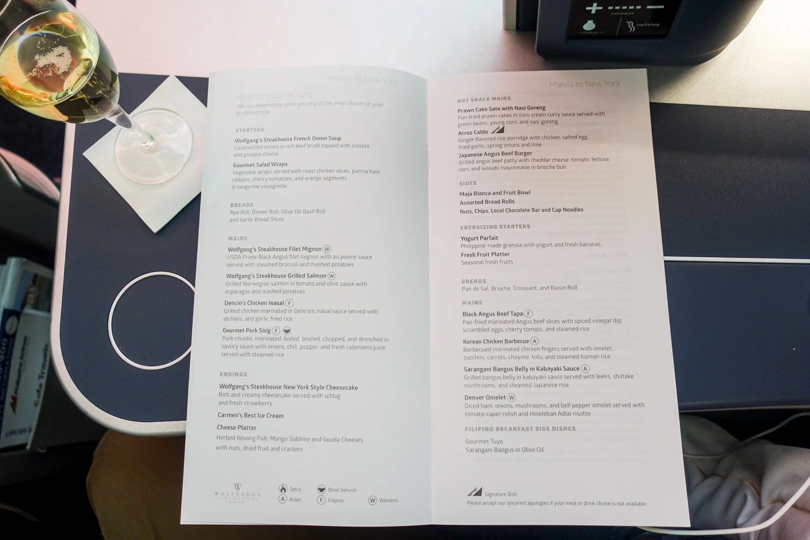 Review: Philippine Airlines Business Class Manila-JFK