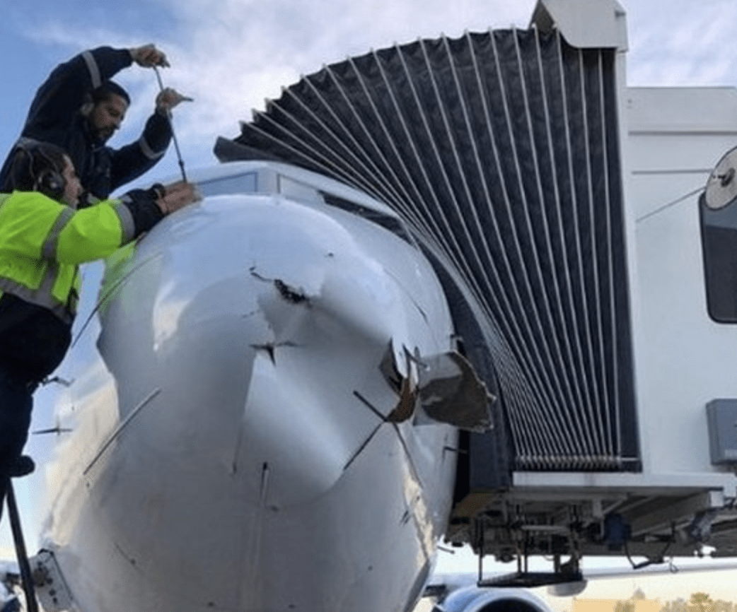 Passenger Boeing 737 Jet Damaged in Possible Collision With Drone
