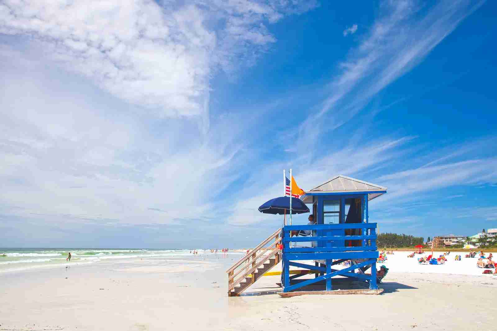 Siesta Key Beach. (Photo via Shutterstock)