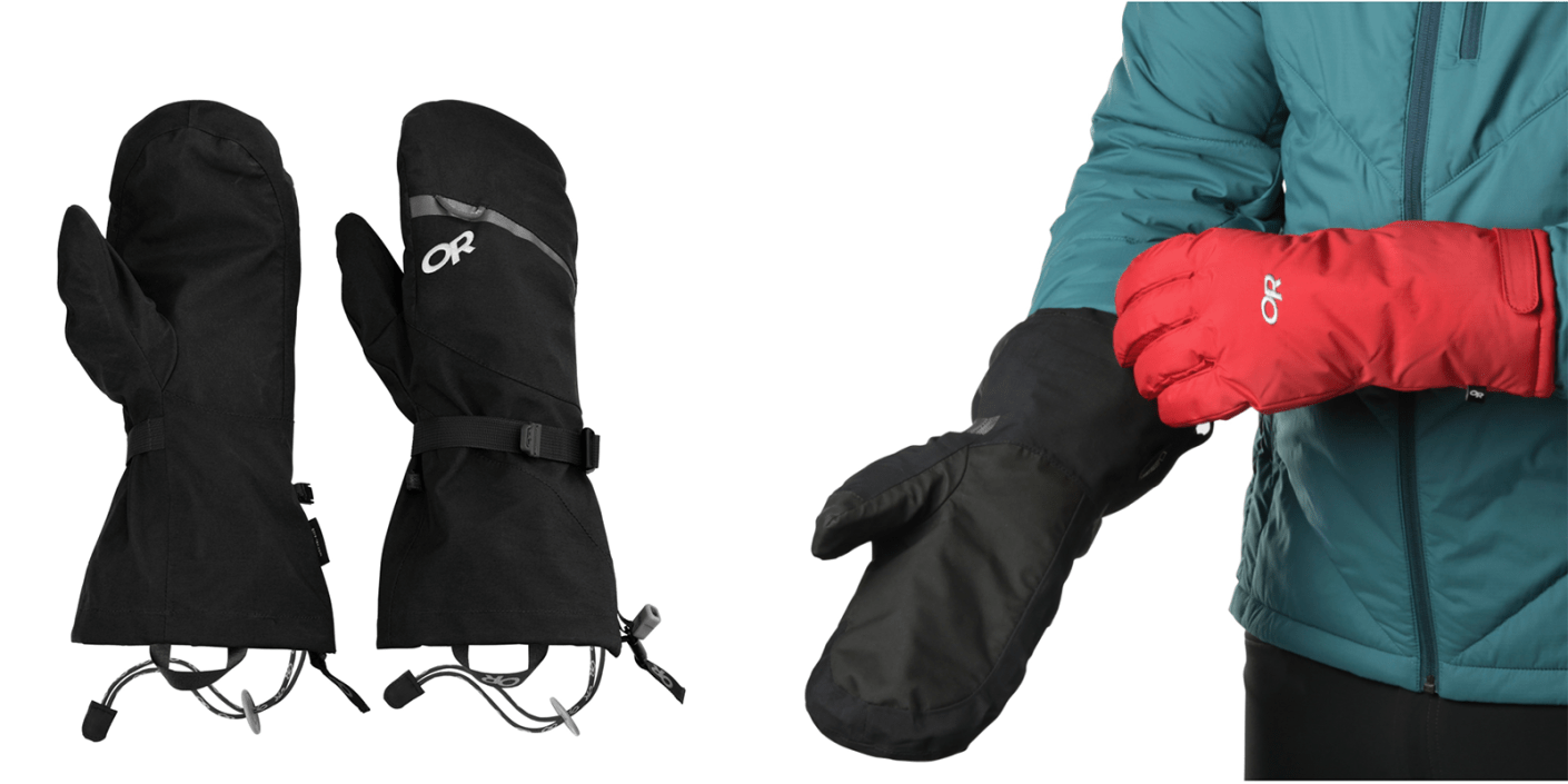 The Mount Baker Modular Mits. (Images via Outdoor Research)