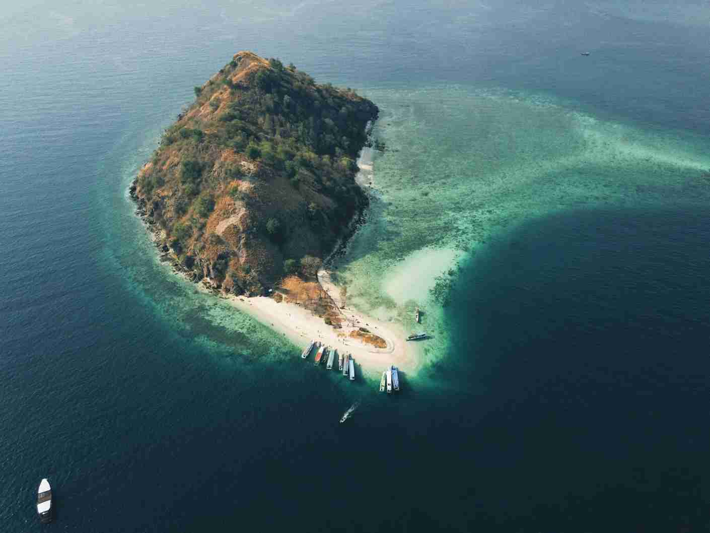 Komodo Island. (Photo by Celvin Purnama via Unsplash)