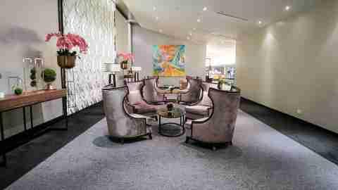 Malaysia Airlines Kuala Lumpur first class lounge