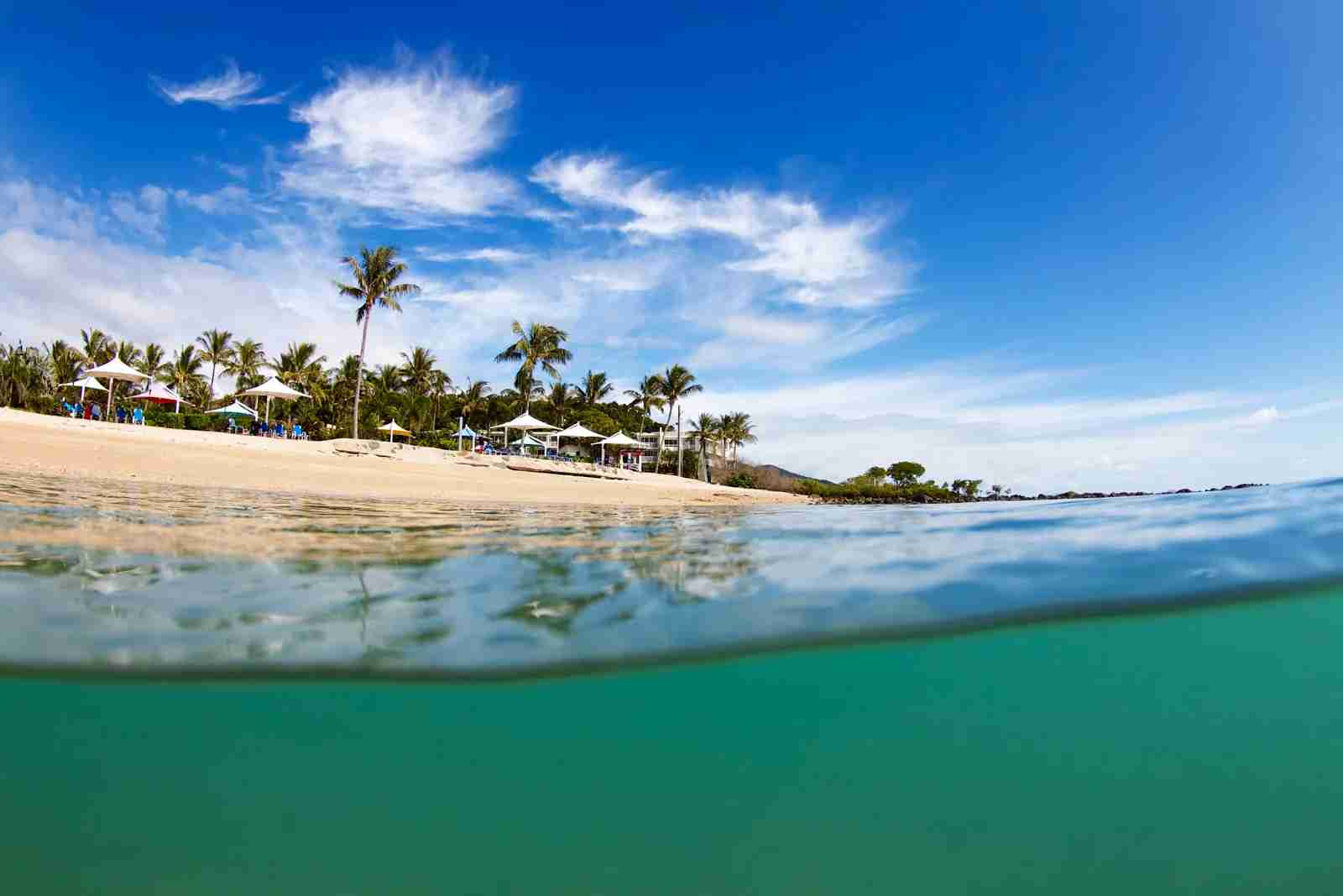 A beach on Daydream Island in Queensland. (Photo via Shutterstock)