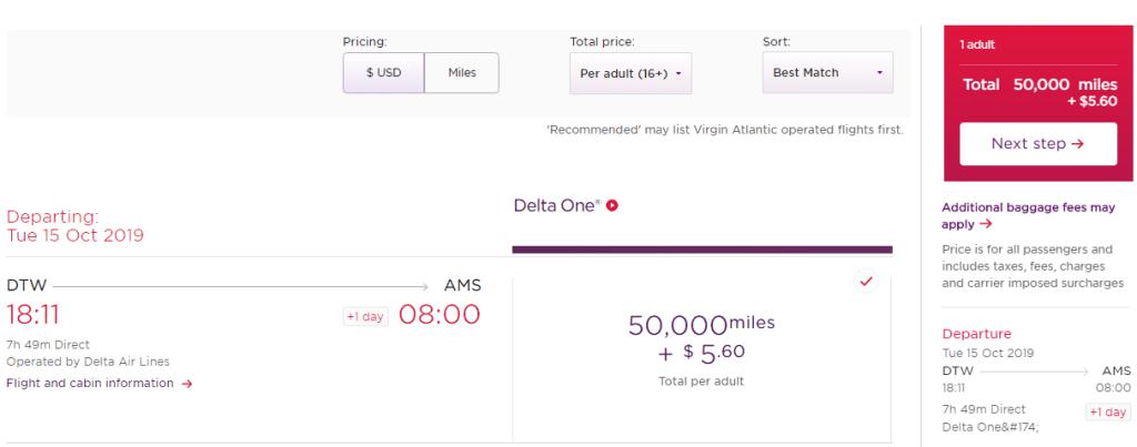 How to Book Cheap Delta Awards Via Virgin Atlantic Flying Club