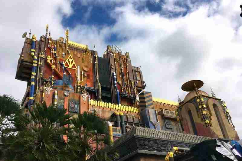 Preschoolers may be tall enough for Guardians of the Galaxy - Mission: BREAKOUT! but not ready for the thrills.Image by Leslie Harvey. Not for reuse in other stories. Image licensed for author