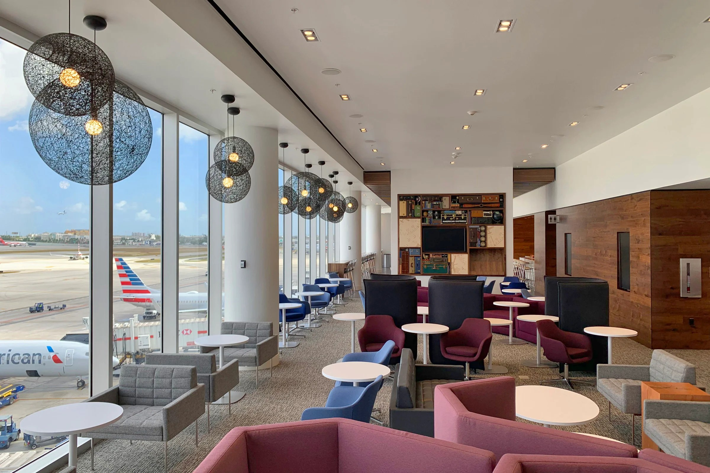 Amex's Expanded Miami Centurion Lounge Is Now Open