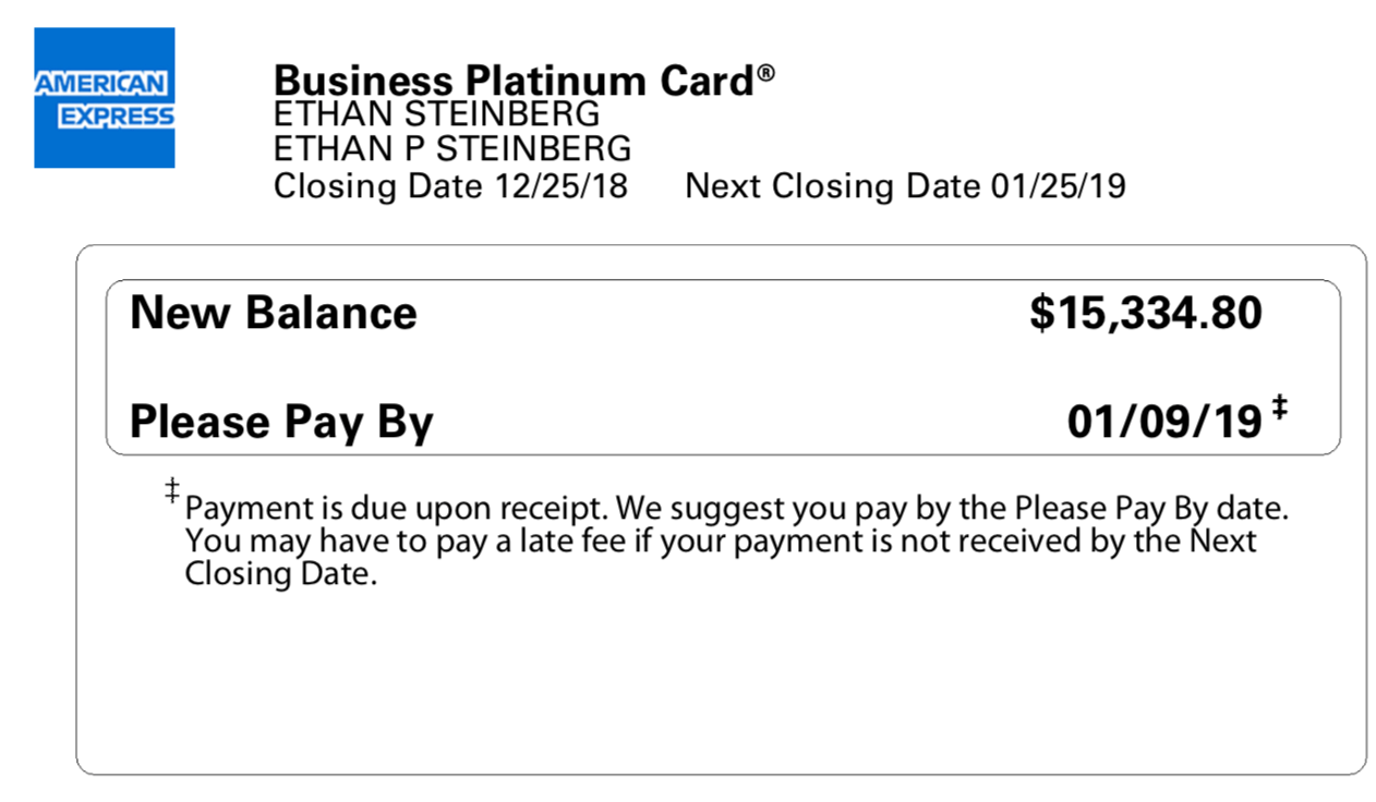 If the number is two or higher, it's considered a late payment and could negatively impact your credit health. Tip Amex S Please Pay By Date Isn T The Same As Your Payment Due Date