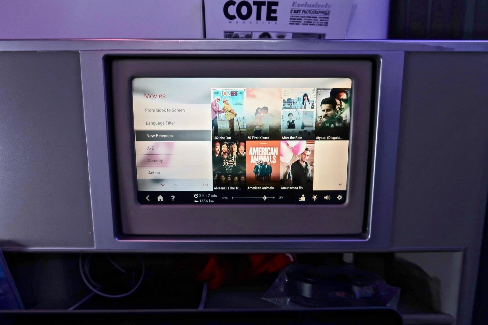 Review: Swiss A330 Business Class LHR - GVA - New York