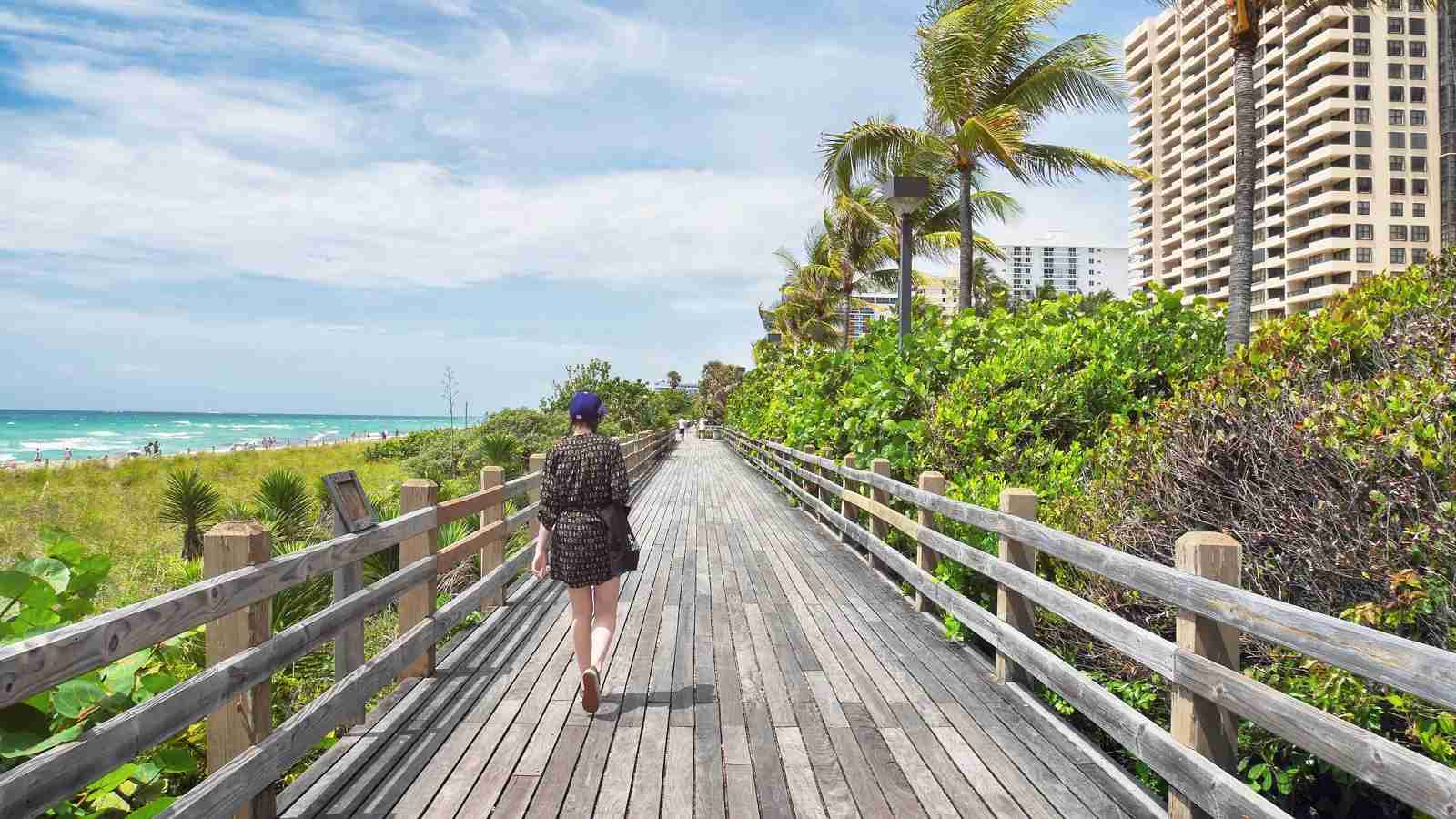 The South Beach boardwalk. (Photo by Julien Borean via Unsplash)