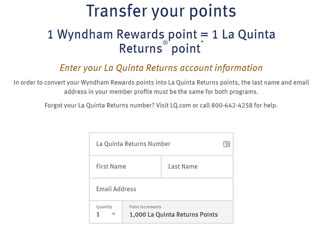 Last Chance Transfer Points La Quinta To Wyndham Before March 31