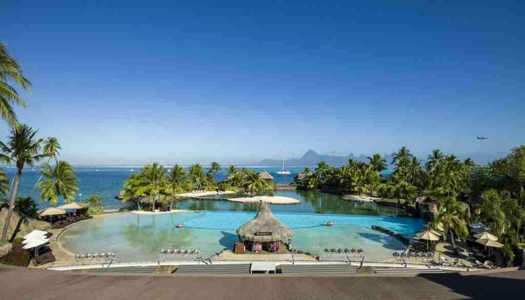 The InterContinental Tahiti Resort. (Photo courtesy of Intercontinental Tahiti)