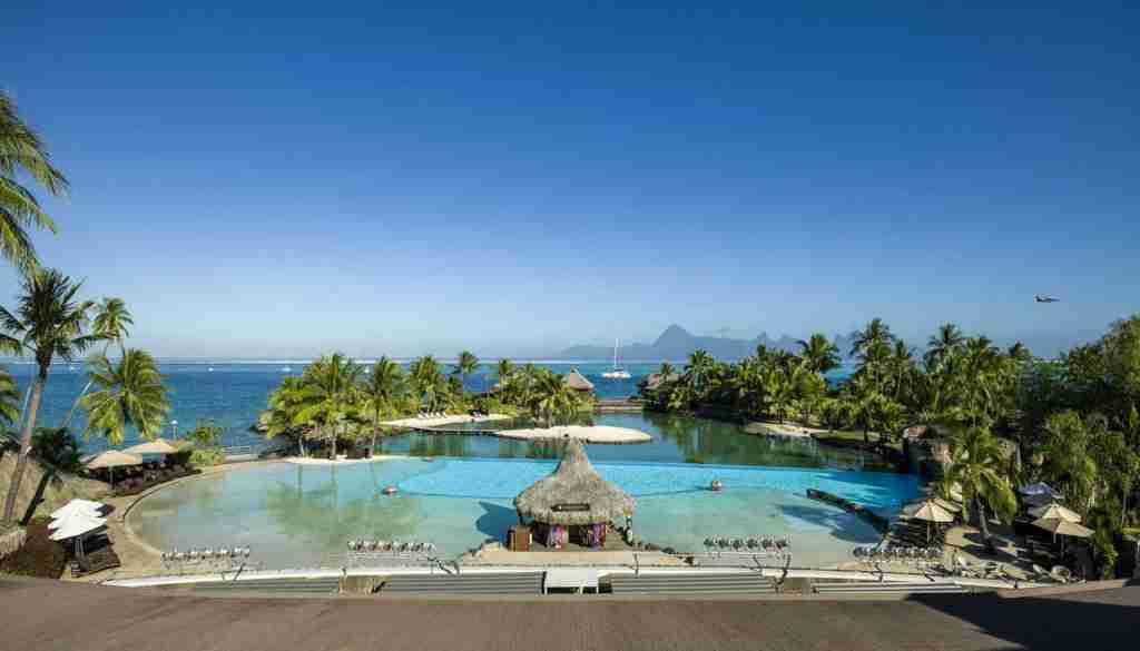 The InterContinental Tahiti Resort. (Photo courtesy of Intercontinental Tahiti)