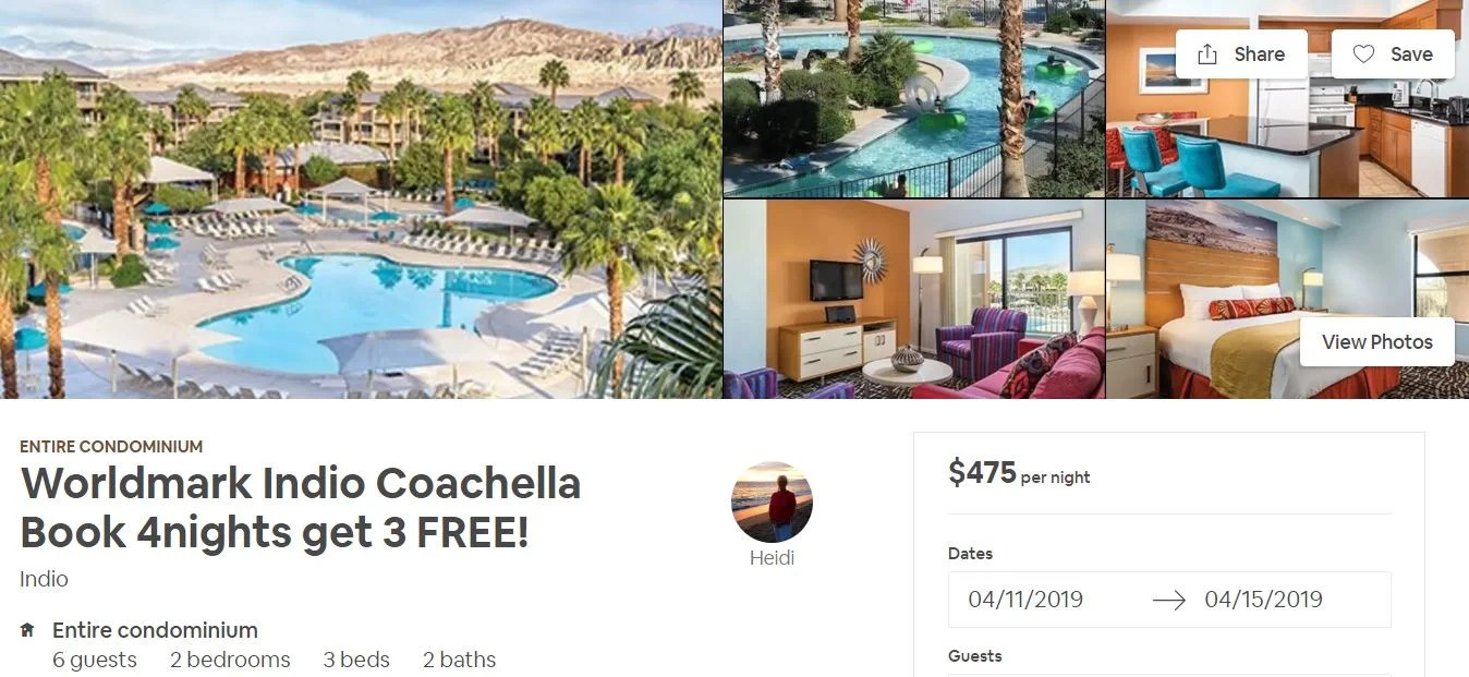 How to Score an Amazing Airbnb for Coachella