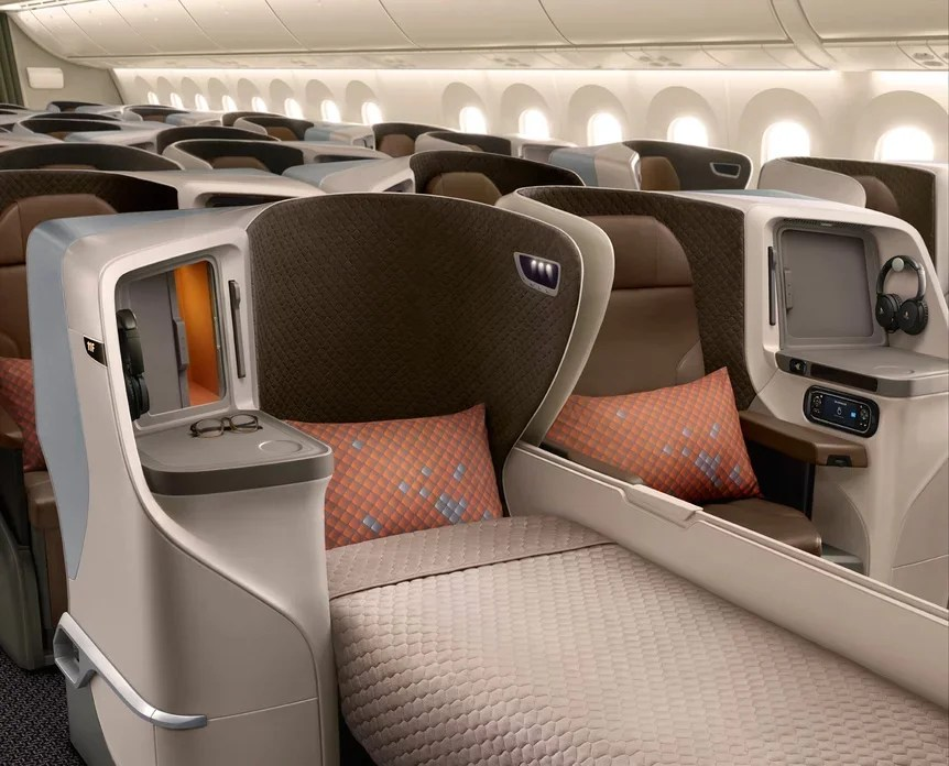First Look at Turkish Airlines' Swanky New Business Class Seats