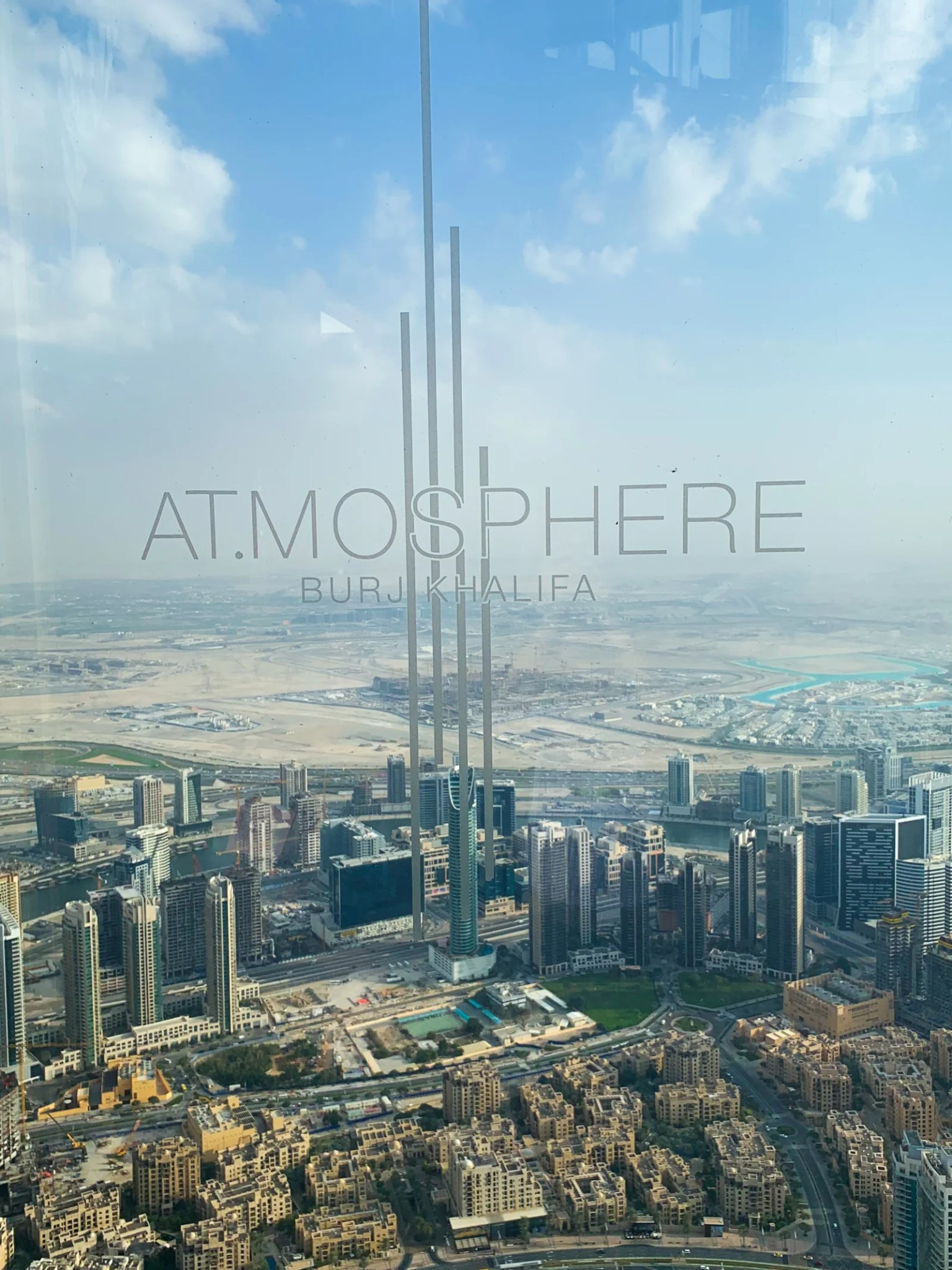 Dining at At mosphere Atop the Burj Khalifa in Dubai