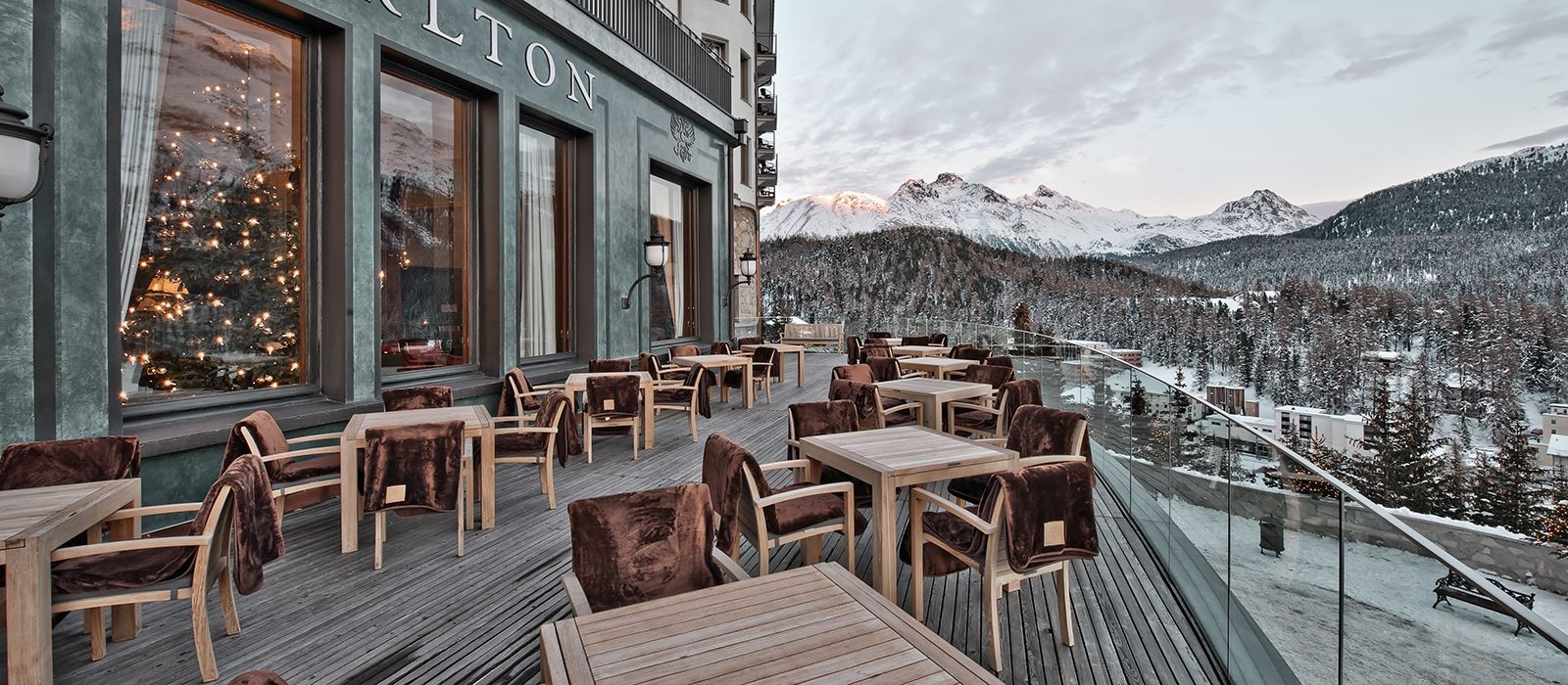 (Photo courtesy of Carlton Hotel St. Moritz)