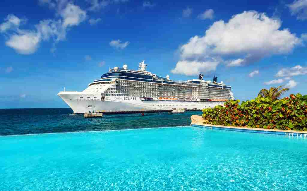 A Celebrity Cruise ship (Photo via Getty Images)