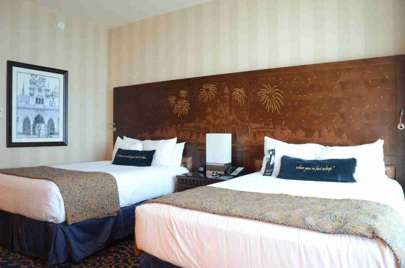 Disneyland Hotel Room with Two Queens TPG