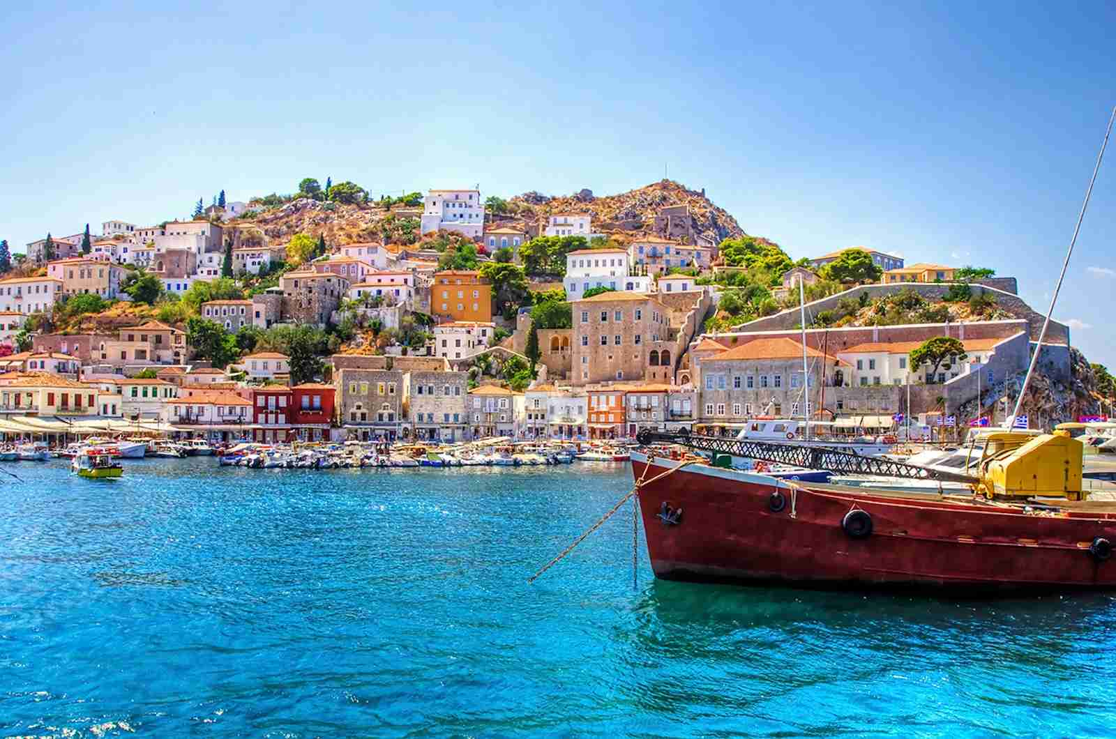 (Hydra, Greece. Photo by f8grapher/Getty Images)