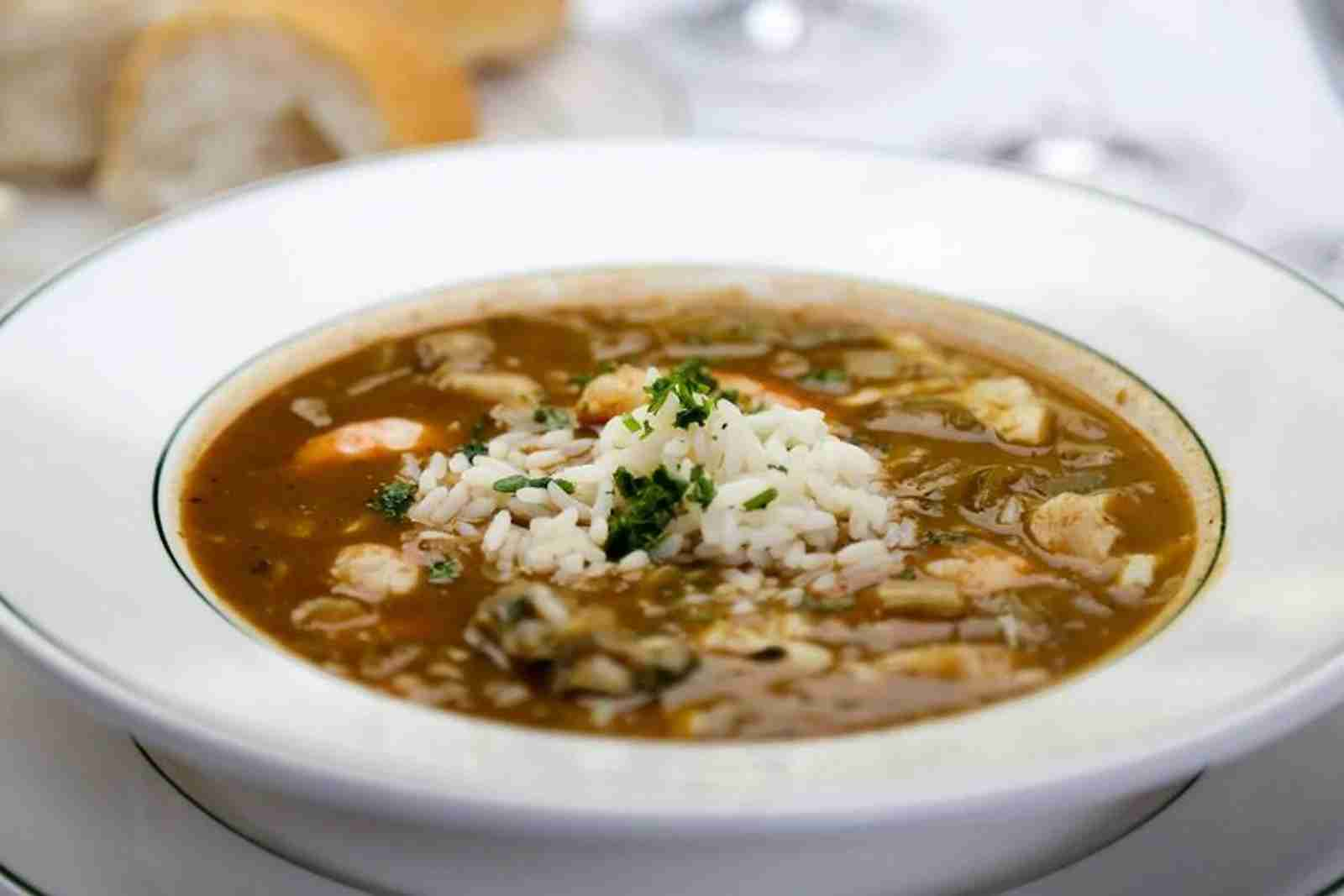(Gumbo from Galatoires. Photo courtesy of Galatoires)