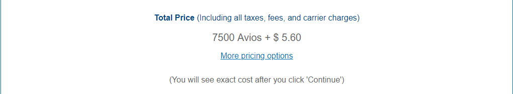JFK-BDA Cost