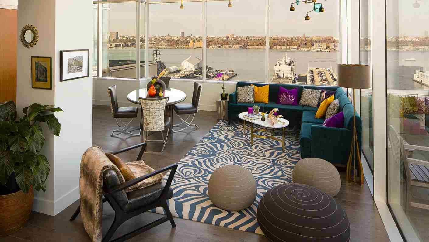The Heaven Over Hell Penthouse Suite. (Photo courtesy of Kimpton Ink48)