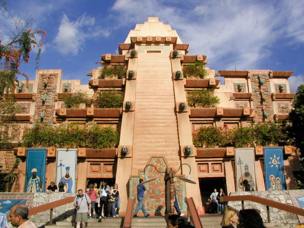 The Mexico Pavilion at Epcot. (Photo via Wikipedia)