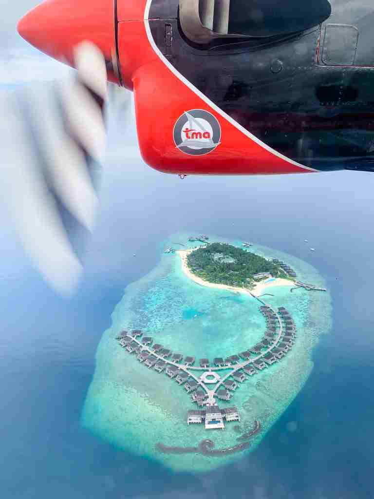 The 45 minute seaplane ride was the perfect buildup to an incredible stay at the St. Regis Maldives