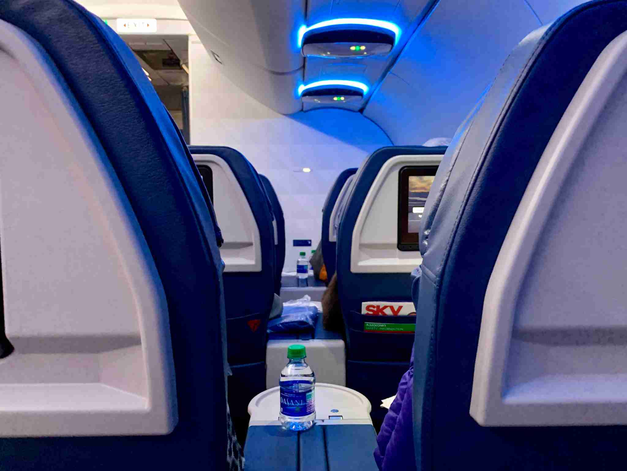 delta a320 first class seating