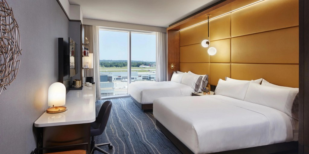 Image courtesy of InterContinental Minneapolis/St. Paul Airport.