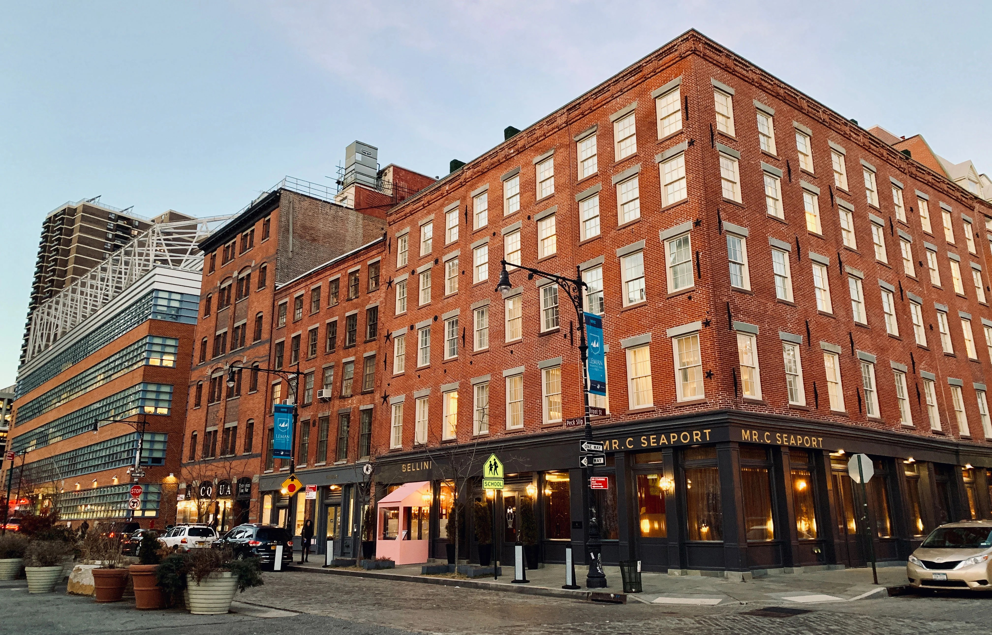 A Review of Mr. C Seaport Hotel in New York City five star hotels nyc