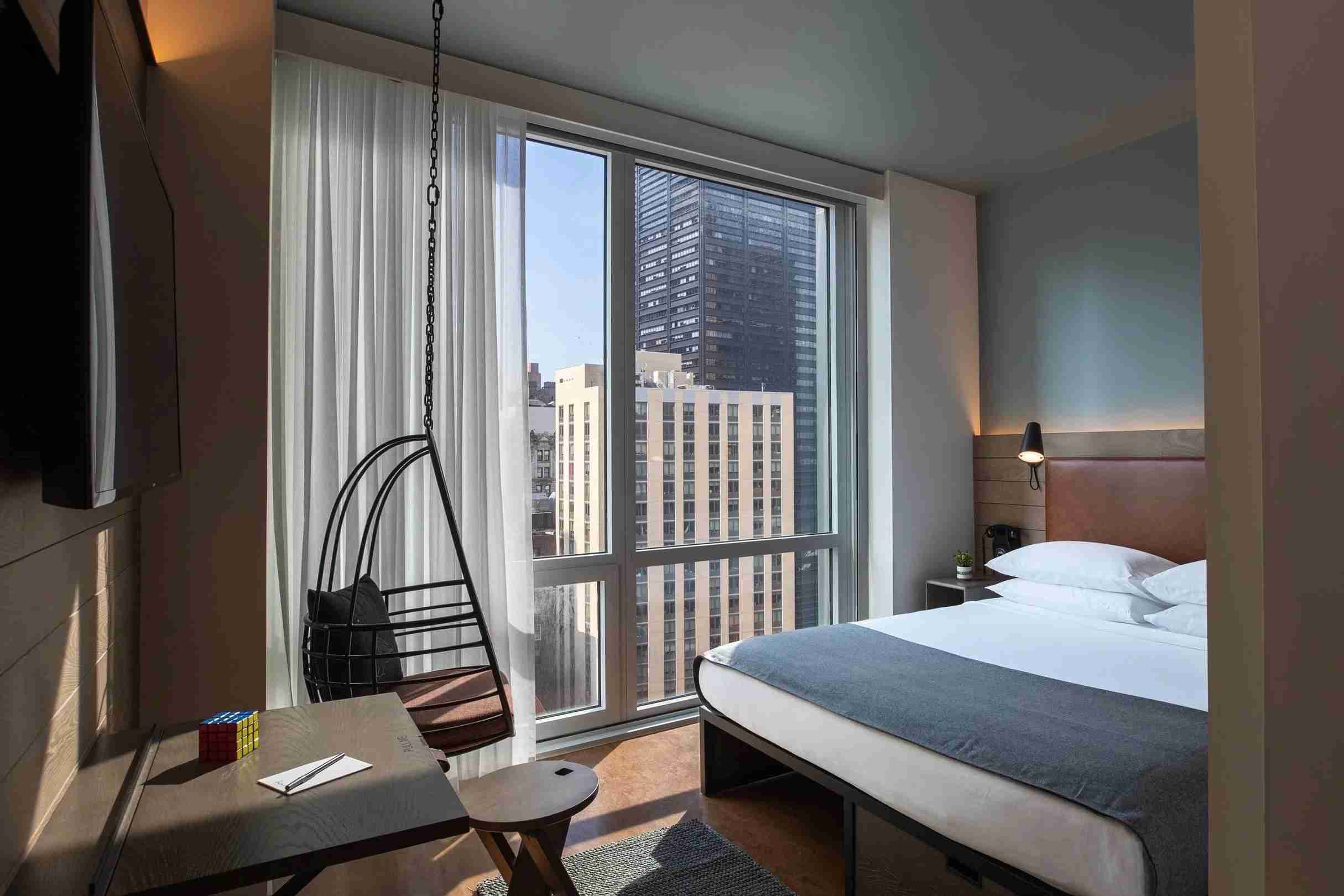 (Photo of The Moxy NYC Downtown courtesy of the hotel.)