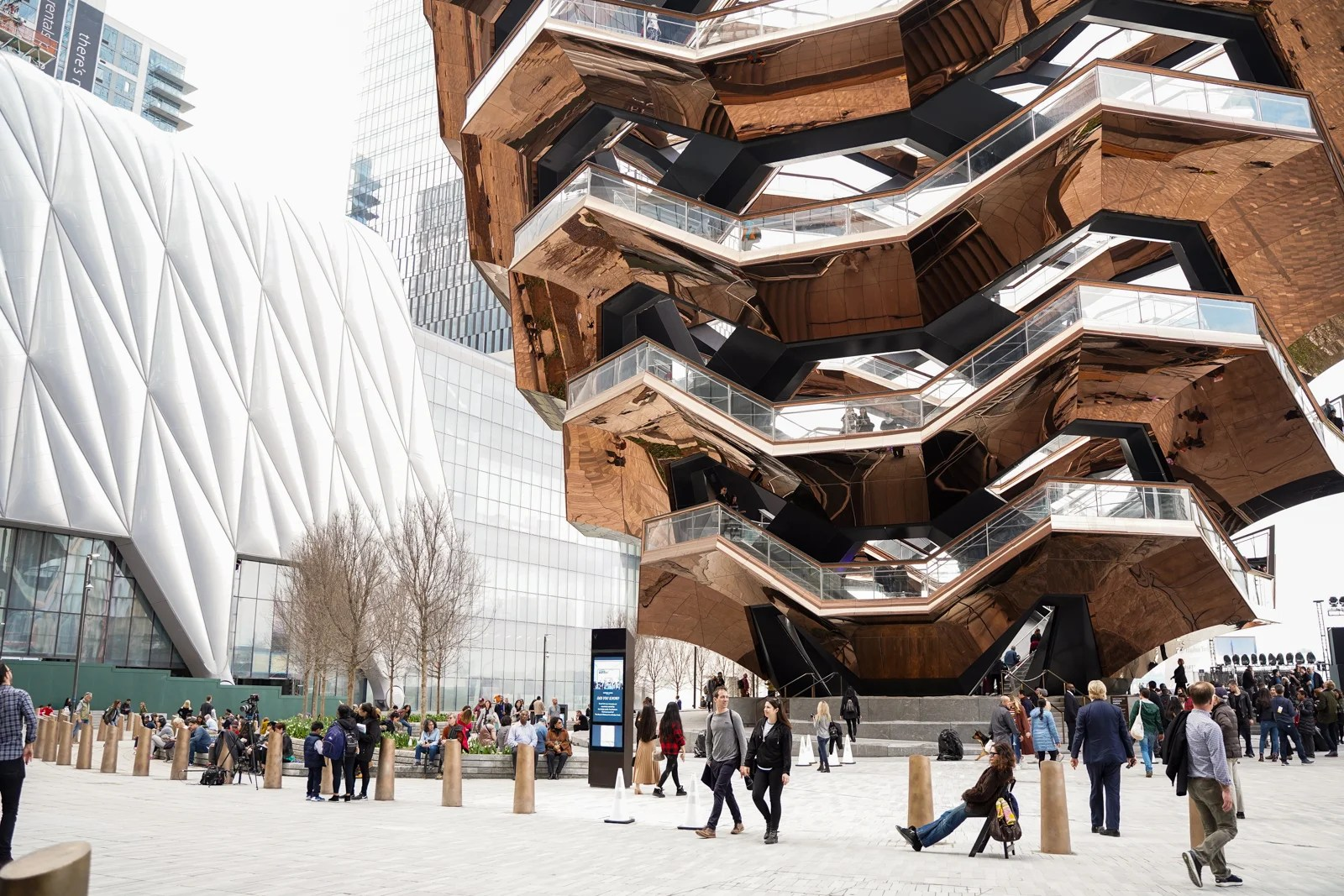 Hudson Yards Just Opened In New York City
